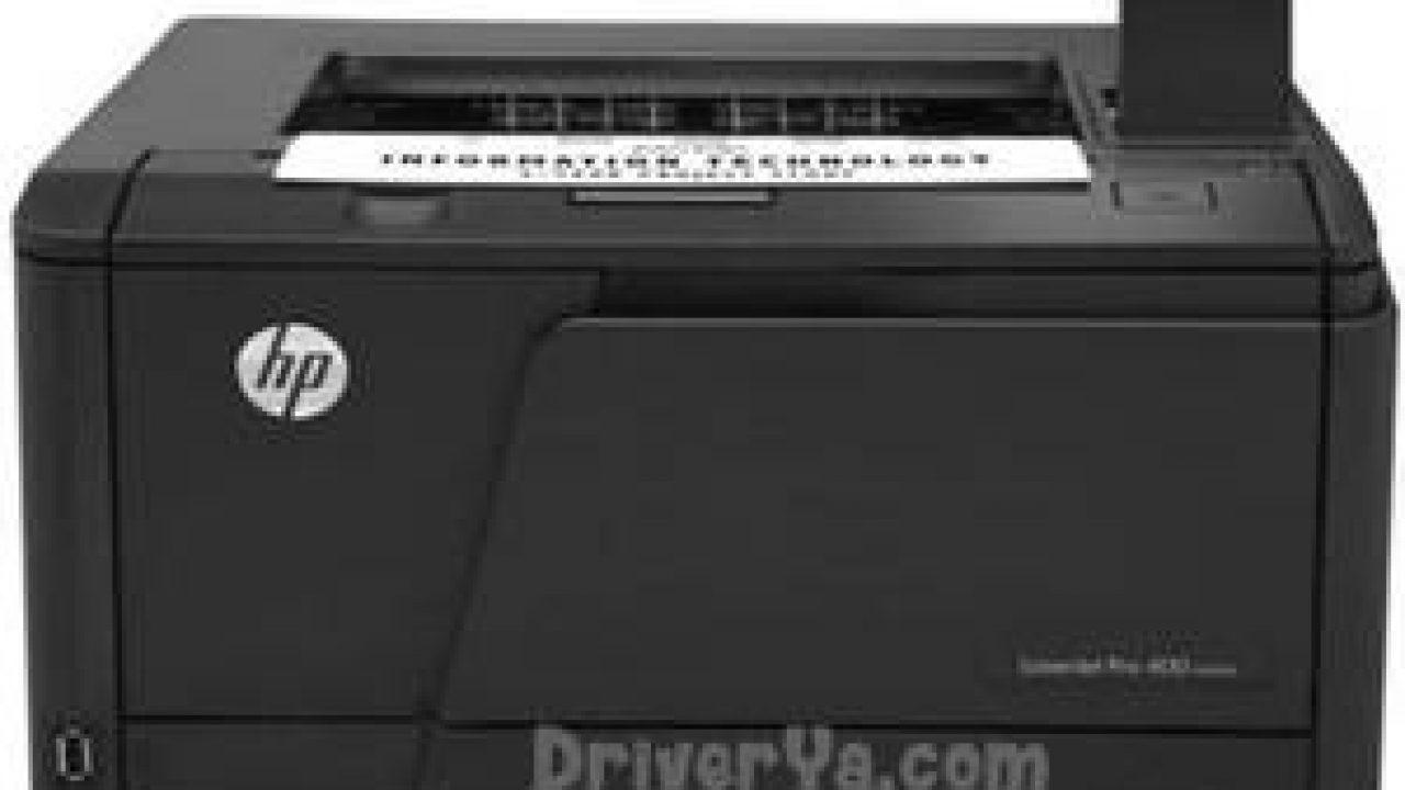 Driver printer support: hp laserjet pro 400 m401dne driver download.
